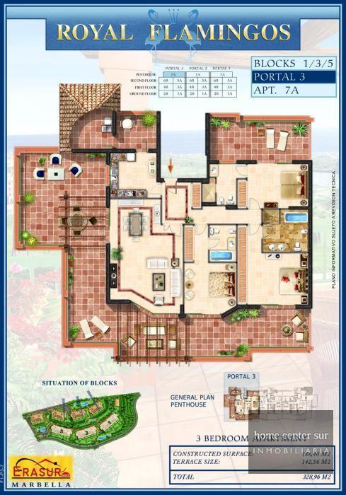 Apartamento en venta en Urbanizacion los Flamingos (Benahavís), 785.000 €