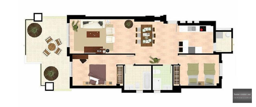 Apartamento venta a estrenar en Calle Madrid 4 (Marbella), 220.000 €